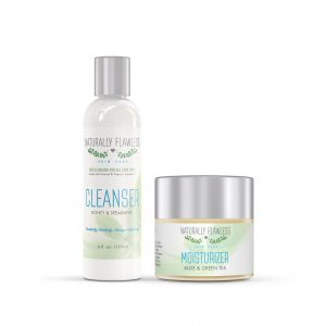 Cleanser & Moisturizer NATURALLY FLAWLESS SKIN CARE